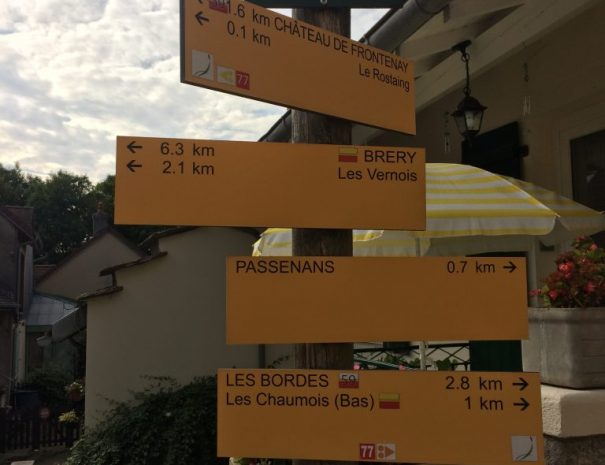 Routes door Passenans