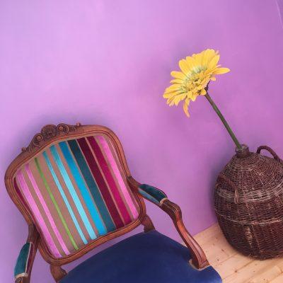 Alice-Les Filles Tresy-stoel-mand-bloem