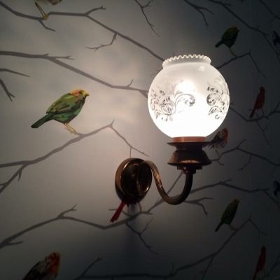 Les FIlles Tresy wandlampje