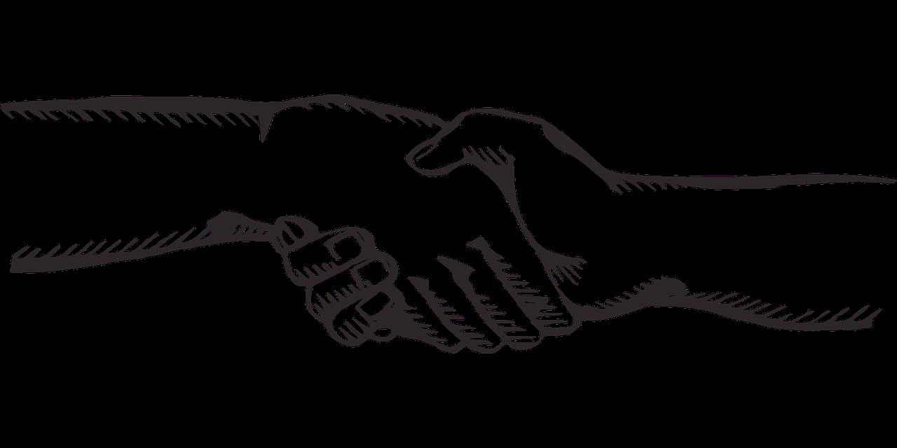 handshake contact