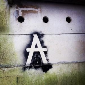 At random street art - foto